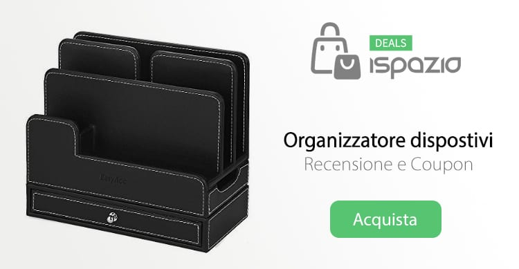Organizzatore Dock Station per tenere tutti i dispositivi in un solo posto, ricaricandoli | Recensione e Coupon