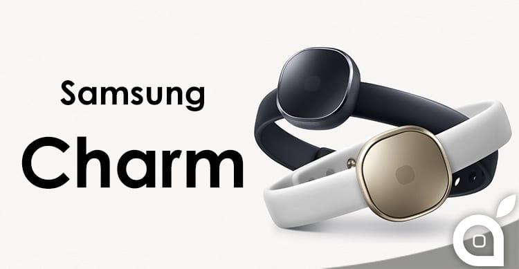 Samsung presenta Charm, una nuova smartband