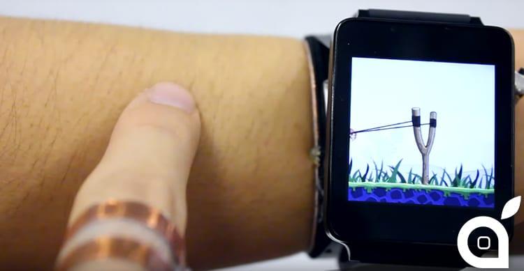 SkinTrack, la tecnologia che trasforma il braccio e la pelle in un controller touch per smartwatch [Video]