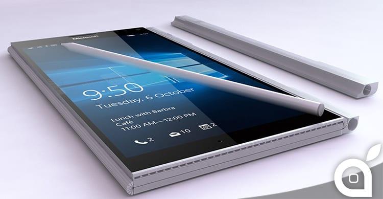 Trapelata in rete l'immagine del primo presunto Surface Phone di Windows