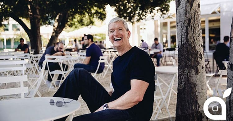 tim cook lunch