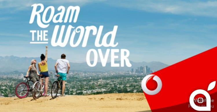 Vodafone UK anticipa i tempi e rimuove i costi di Roaming per l'estero
