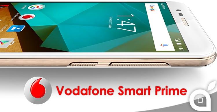 Vodafone Italia presenta il suo nuovo smartphone Vodafone Smart Prime (2016)