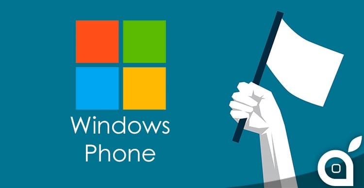 Gartner sembra decretare la morte di Windows Phone: la quota di mercato scende al di sotto dell'1%