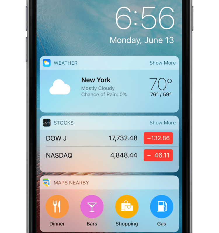 Apple-iOS-10-Lock-Screen-Widgets