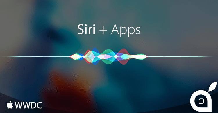 WWDC 2016: Siri è ora aperto a tutti gli sviluppatori e potrà interagire con le app, come WhatsApp!