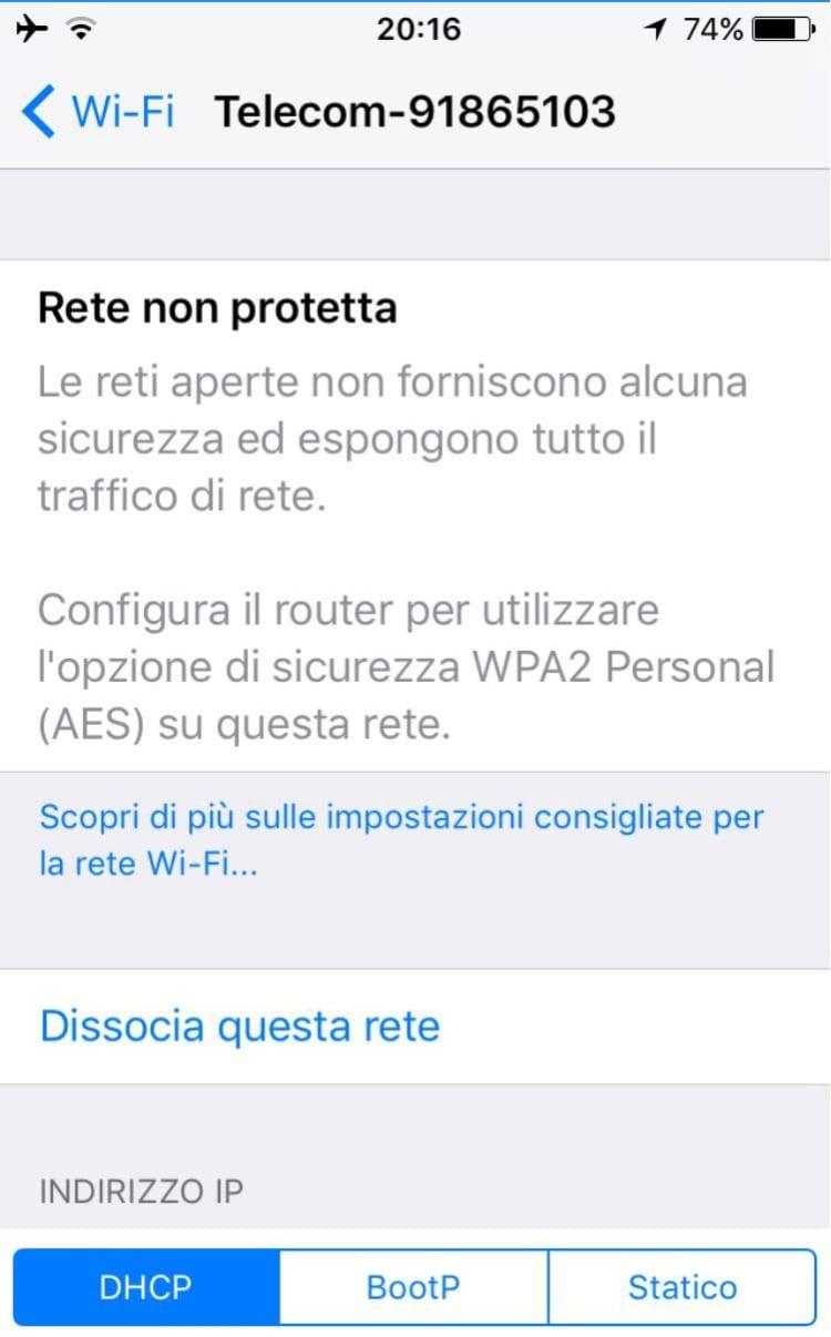 WPA 2 iOS 10