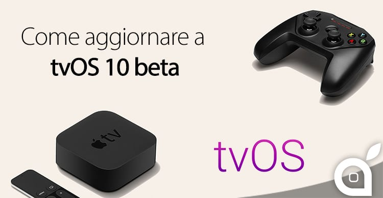 come aggiornare apple tv beta tvos