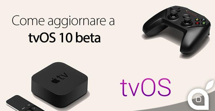 tvOS: Come si installano le versioni beta sulla nuova Apple TV?   Guida