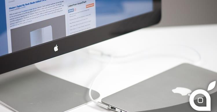 Apple starebbe lavorando a nuovi display Thunderbolt con GPU integrata