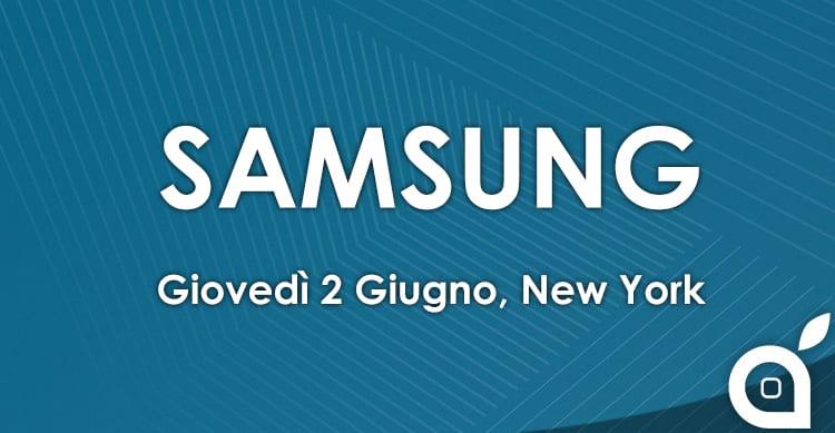 Samsung terrà domani un evento a New York: cosa presenterà il colosso tech?
