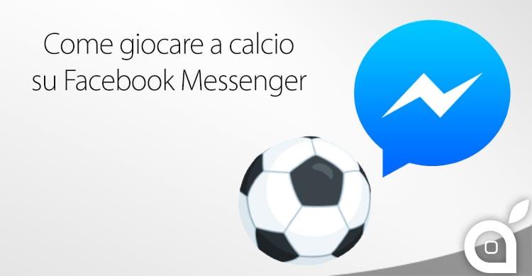 facebook messenger calcio soccer