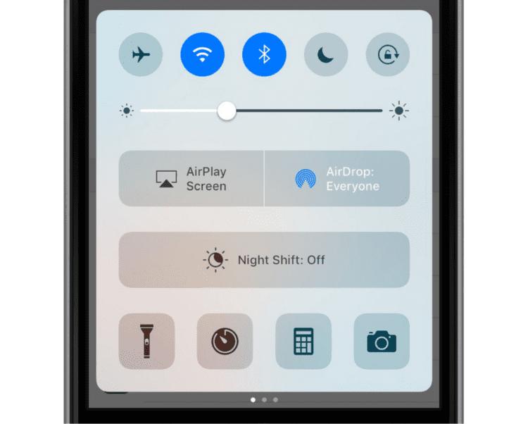 iOS-10-Modular-Control-Center