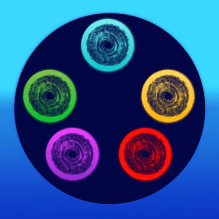 ColorGates: prendi tutte le stelline e supera i livelli con questo simpatico passatempo