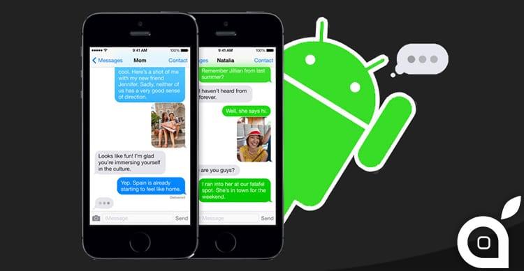 iMessage non arriverà su Android: Apple ne spiega i motivi