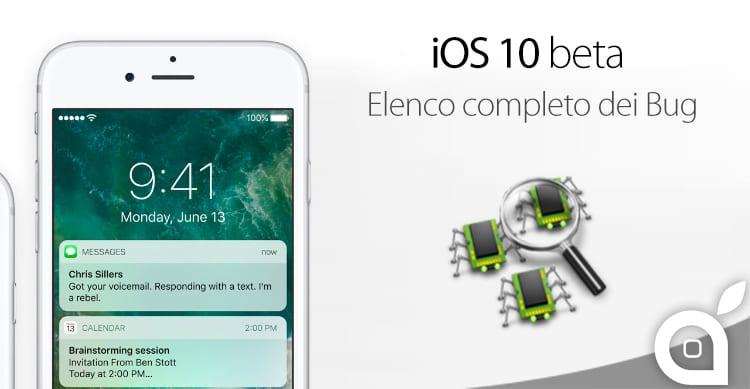 ios 10 beta bug