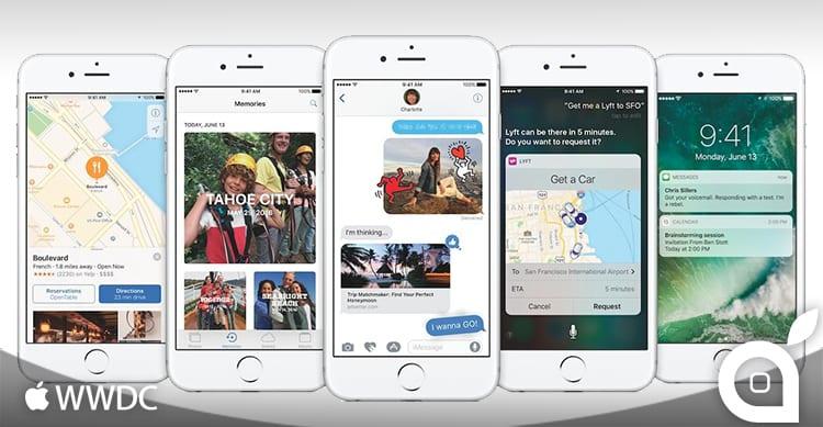 Apple presenta iOS 10: Ecco la rivoluzione che stavamo aspettando!