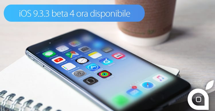 ios 9.3.3 beta 4