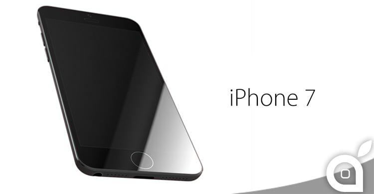 L'iPhone 7 si mostra in una nuova foto del suo pannello frontale | Rumor