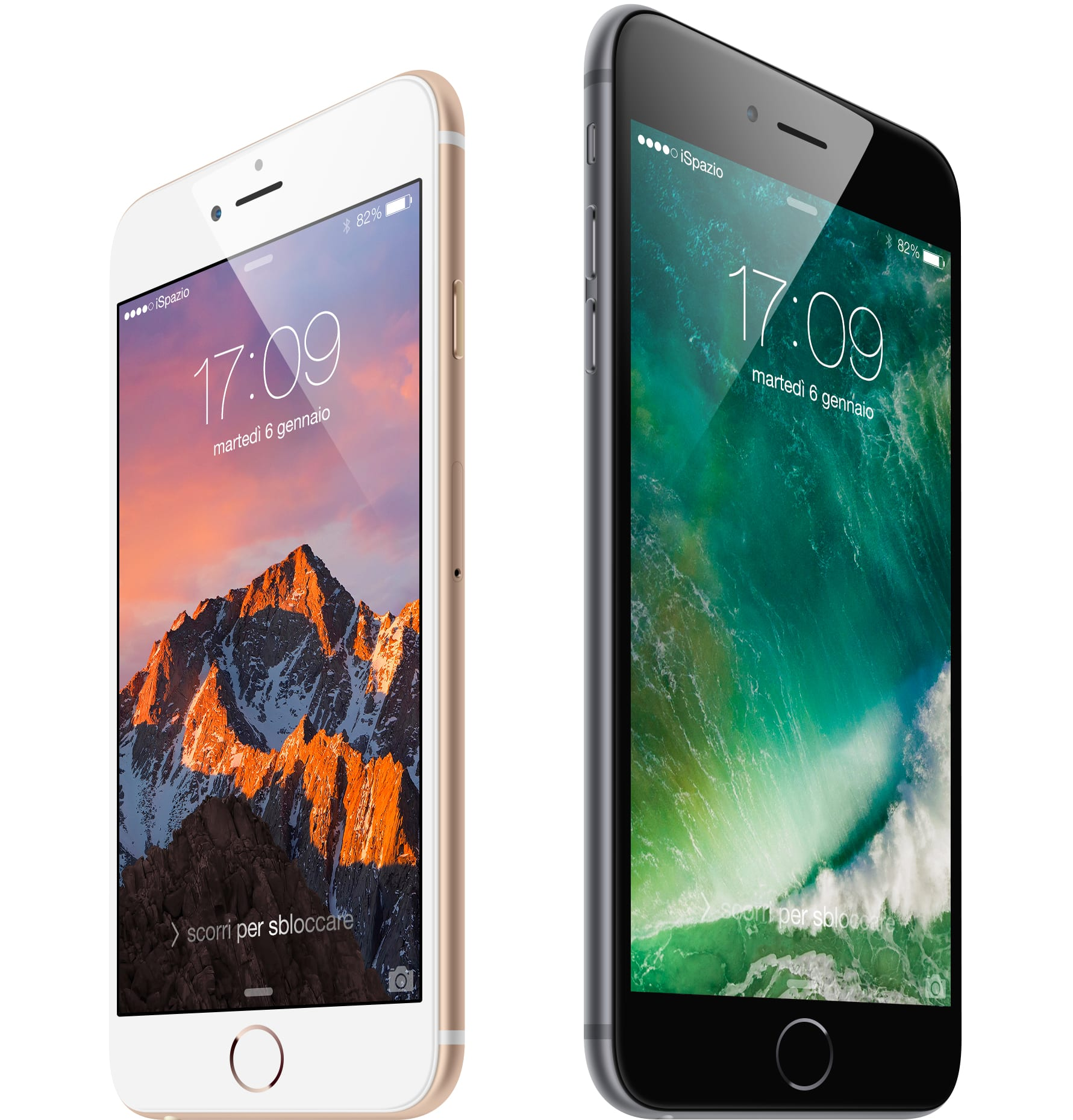 #WallpaperSelection #105: Gli Sfondi di iOS 10 e di macOS Sierra realizzati da iSpazio, disponibili al download