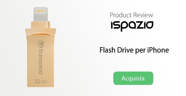 JetDrive Go 500, la più piccola e solida Flash Drive per iPhone che ne aumenta la memoria