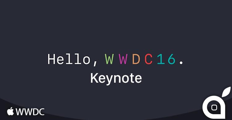 keynote WWDC16