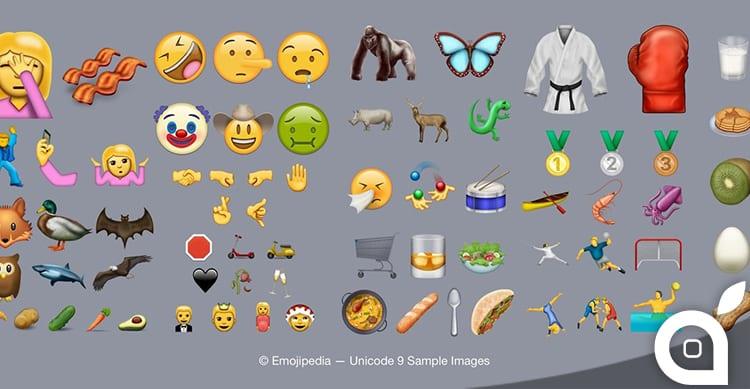 Unicode 9.0 è ora ufficiale: tante nuove emoji disponibili!