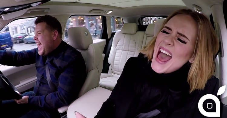 "Apple Music acquista i diritti del famoso programma ""Carpool Karaoke"""