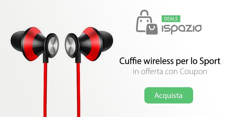 Aoso cuffie wireless per lo sport a soli 10 44 con coupon nuovamente disponibili ispazio - Cuffie per sport ...