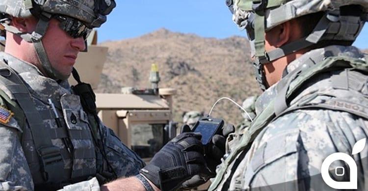 L'esercito degli Stati Uniti abbandona Android a favore degli iPhone