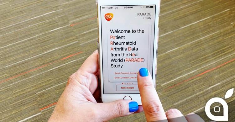 GlaxoSmithKline sarà la prima casa farmaceutica ad utilizzare ResearchKit di Apple
