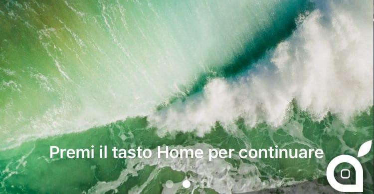 Con iOS 10 beta 2, l'iPhone si sblocca soltanto appoggiando il dito sul tasto Home, senza premerlo