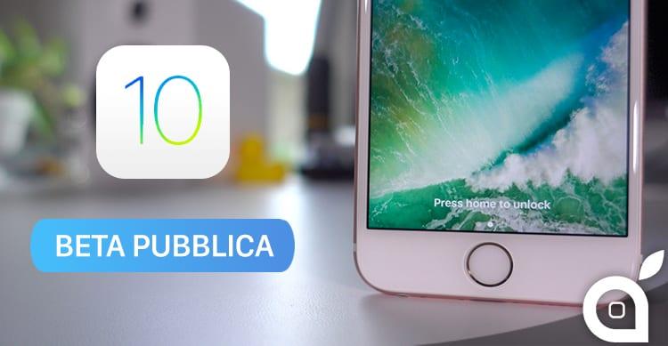 Apple rilascia la seconda Beta di iOS 10.2.1 per tutti i tester