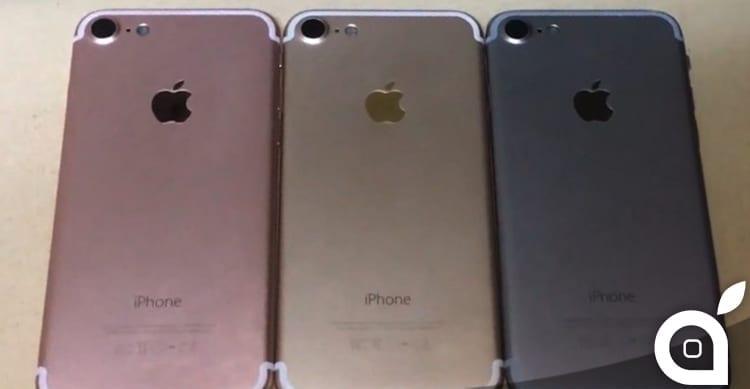 I preordini per iPhone 7 potrebbero iniziare il 9 settembre