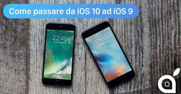 Come passare da iOS 10 beta ad iOS 9.3.2 | VIDEOGUIDA al Downgrade