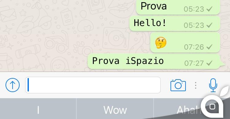 Amato WhatsApp: oltre al grassetto, corsivo e barrato, da oggi è  MR68