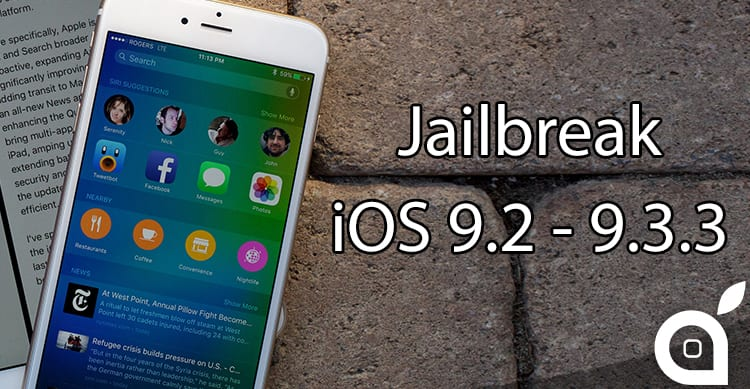 Pangu, il Jailbreak per iOS 9 2/9 3 3 è ora disponibile