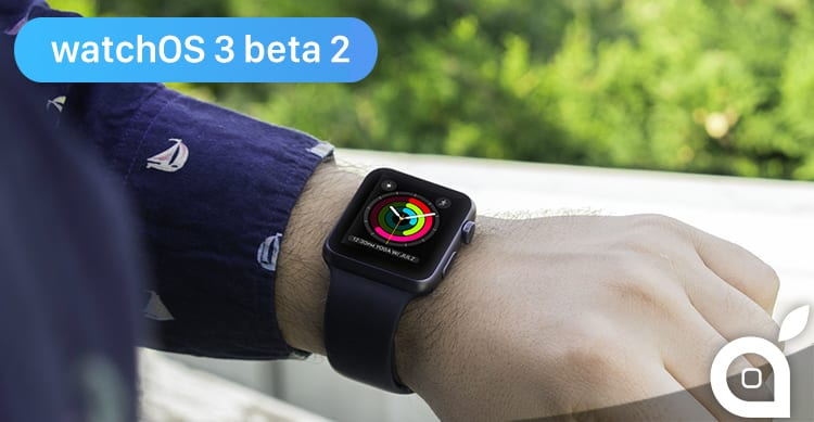 watchos 3 beta 2