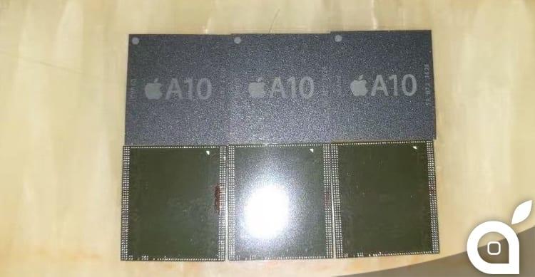 Apparsa in rete la prima foto del presunto chip A10 di iPhone 7