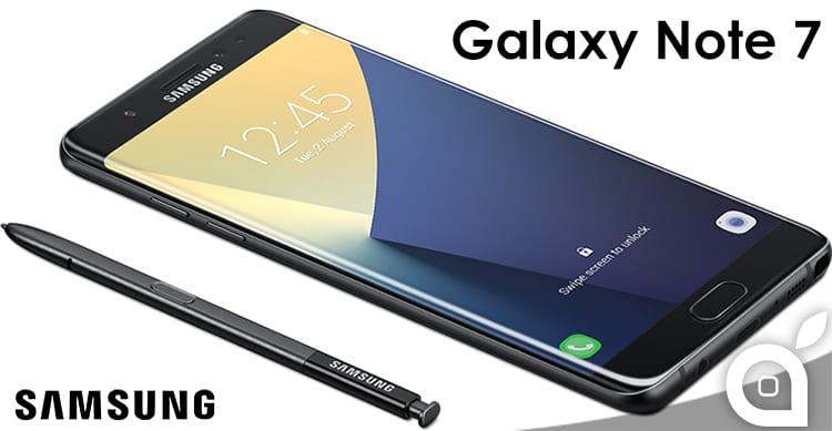 Samsung presenta ufficialmente il Galaxy Note 7: caratteristiche e disponibilità [Video]