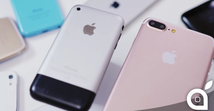 iPhone 7 Plus: ecco come sembra paragonato agli altri iPhone [Video]