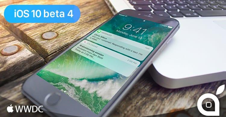 iOS 10 beta 4: Ecco tutte le novità in un solo articolo [19] | Video