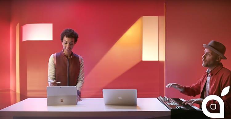 Il nuovo spot di Microsoft è un confronto tra il Surface Pro 4 e il MacBook Air di Apple [Video]