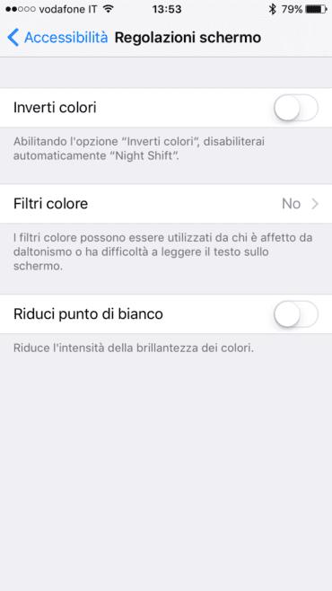 filtri colore