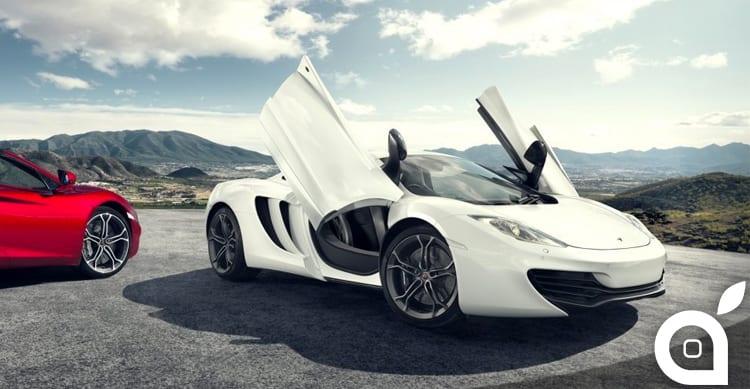 Apple voleva acquisire McLaren per realizzare la propria automobile ma poi gli interessi sono cambiati