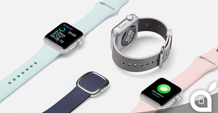 Brevettato il metodo d'espulsione dei liquidi sull'Apple Watch 2