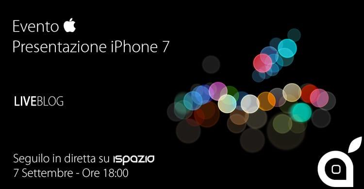 evento apple 7 settembre presentazione iphone 7 ispazio
