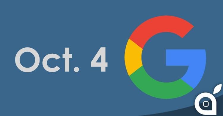 Evento Google fissato per il 4 Ottobre: in arrivo i nuovi smartphone Pixel e Pixel XL [Video]