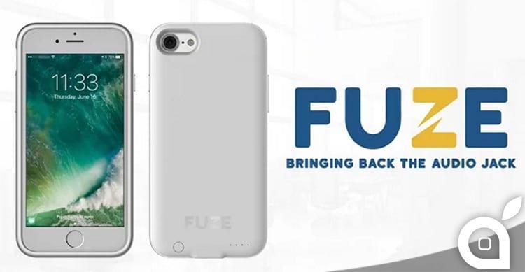 Fuze: La prima custodia per iPhone 7/7 Plus che aggiunge nuovamente il jack audio da 3,5mm