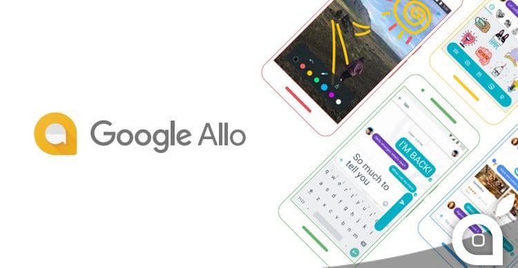 Google Allo è ufficiale, per Android e iOS. Veloce, smart e utile